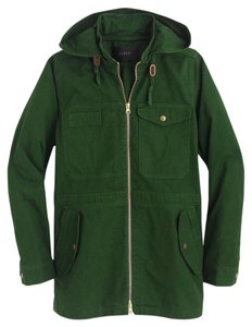 J.Crew Brand Name Woodland Green Jacket