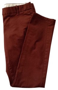 J.Crew Khaki/Chino Pants Burnt red