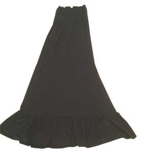 Black Maxi Dress by Bisou Bisou Maxi Stretchable Top