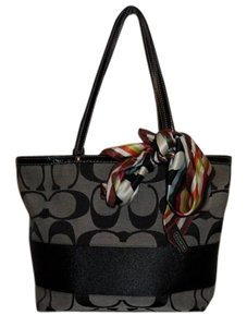 Coach Reversible Tote in Black