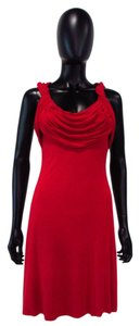 Bailey 44 short dress Red Sexy Cowl Neck on Tradesy