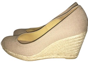 Bettye Muller Linen Wedges
