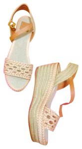 Tory Burch Neutral Wedges