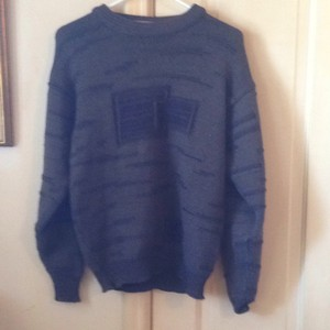 Chaumiere Aux Iricols Vintage Wool French Acrylic 1980s Sweater