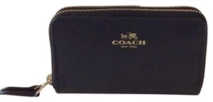 Coach Double Zip Coin