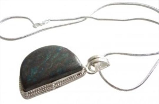 Preload https://item1.tradesy.com/images/sea-sediment-jasper-natural-shiny-sterling-silver-pendant-necklace-189200-0-0.jpg?width=440&height=440