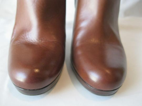 Cole Haan Leather Two Toned Brown Boots Image 2