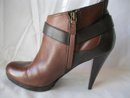 Cole Haan Leather Two Toned Brown Boots Image 6
