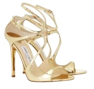 Jimmy Choo Gold patent Formal