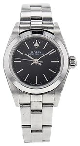 Rolex ROLEX Ladies Oyster Perpetual Stainless Steel No Date Watch 76080