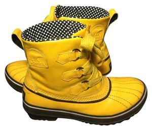 Sorel yellow Boots