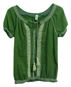 Lucky Brand Top olive