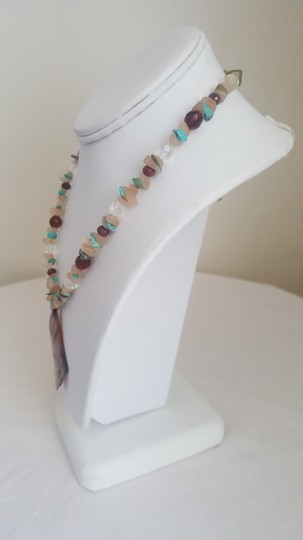 Other Sand and Turquoise Summer Necklace Image 4