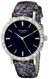 Kate Spade Women's Pave Interchangeable Strap Metro Grand Watch