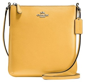 Coach Hobo 36311 Satchel in Canary yellow silver