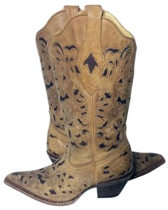 Corral Boots Corral C 1961 Corral Cowgirl 6 Size 6 Brown Boots