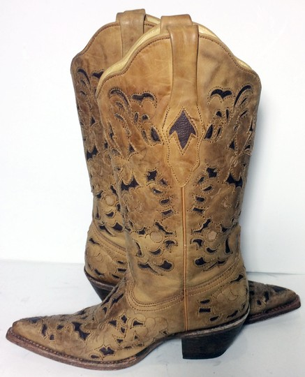 Corral Boots 1961 Cowgirl 6 Size 6 Brown Boots Image 2