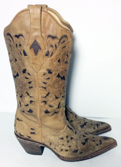Corral Boots 1961 Cowgirl 6 Size 6 Brown Boots Image 3