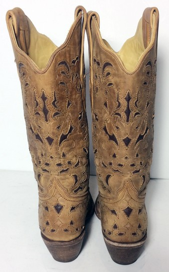 Corral Boots 1961 Cowgirl 6 Size 6 Brown Boots Image 6