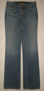David Kahn 5 Pocket Style Zip Fly Cotton/spandex Straight Leg Jeans-Medium Wash