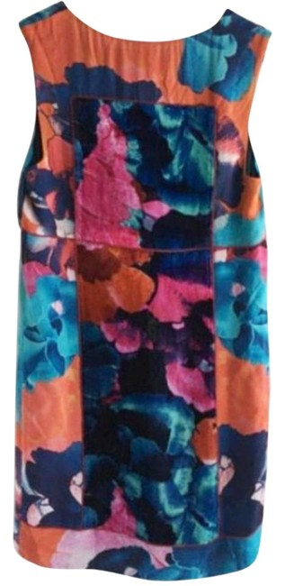 Anthropologie Panels Piping Luxurious Dress