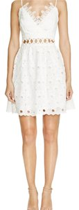Lucy Paris short dress White on Tradesy