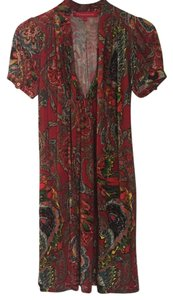 Christian Lacroix short dress Red background. on Tradesy