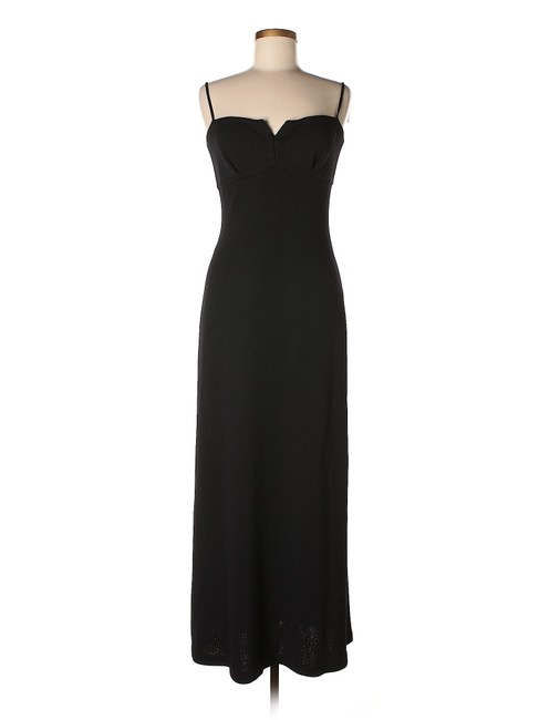Preload https://img-static.tradesy.com/item/18922183/st-john-black-evening-sleeveless-knit-gown-knee-length-night-out-dress-size-6-s-0-2-650-650.jpg