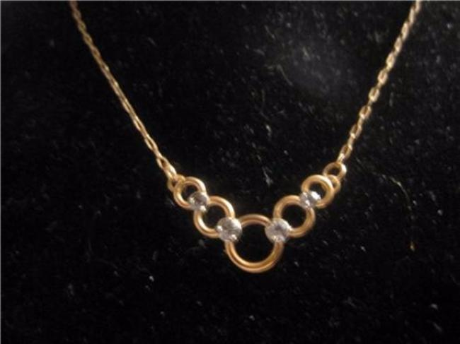 Item - Yellow and Rose Gold Vintage Jewelry/Designer Necklace
