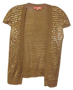 Lux Summer Crochet Sequin Sparkle Cardigan