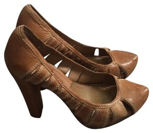 Miss Sixty Leather Heels Brown Pumps
