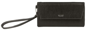 Matt and Nat Vegan Wallet Purse Wristlet in Black