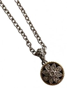 Andrea Candela Etched silver and 18k gold