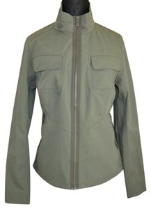 Nautica Organic Cotton Eco Friendly Olive green Jacket