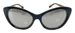 Michael Kors New MK 2014 30655A Paradise Beach Black Acetate Gold Reflective 54mm
