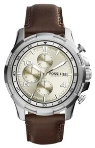 Fossil BNWT Fossil Men's Chronograph Watch FS5114 Brown band