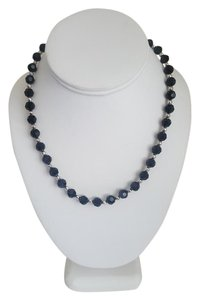 Swarovski Black And Silver Stone Necklace