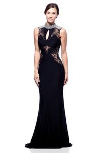 Bicici & Coty High Neck Lace Beaded Rr33610 Dress
