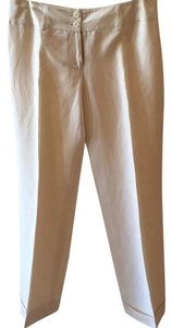 Ann Taylor Trouser Pants Cream/off-white