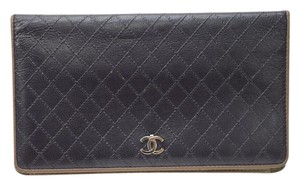 Chanel Chanel Black Quilted Wallet