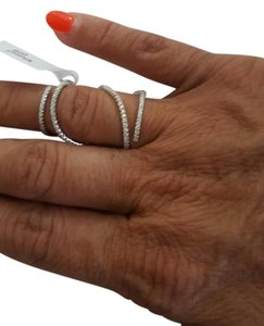 Full Finger Silver Ring with Flexible Hinge