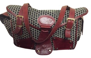 Mia Bossi Black Cherry Diaper Bag