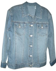 Chico's Medium Wash Womens Jean Jacket