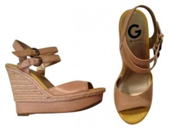 Preload https://item1.tradesy.com/images/guess-nude-and-yellow-wedges-size-us-75-189260-0-0.jpg?width=440&height=440