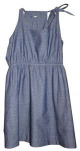 J.Crew short dress Light Denim on Tradesy