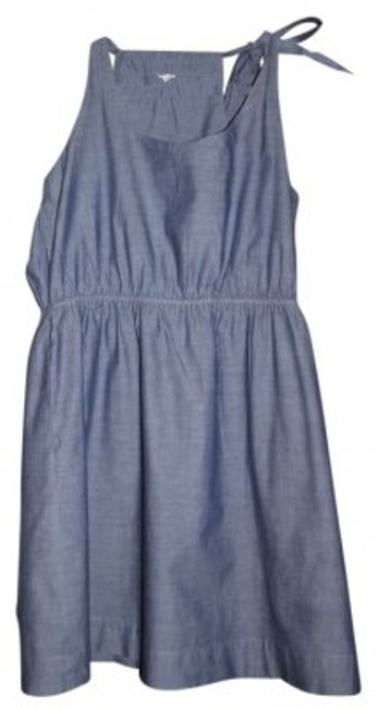 Preload https://item3.tradesy.com/images/jcrew-light-denim-above-knee-short-casual-dress-size-12-l-189267-0-0.jpg?width=400&height=650