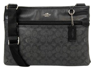Coach Monogram Black Cross Body Bag
