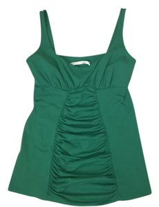 Susana Monaco Top Green; navy