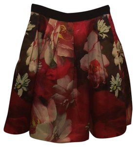 Ted Baker Skirt Red tones