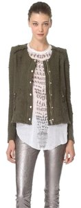 IRO Rag & Bone Isabel Marant Haute Hippie Tory Burch Dvf Green Jacket